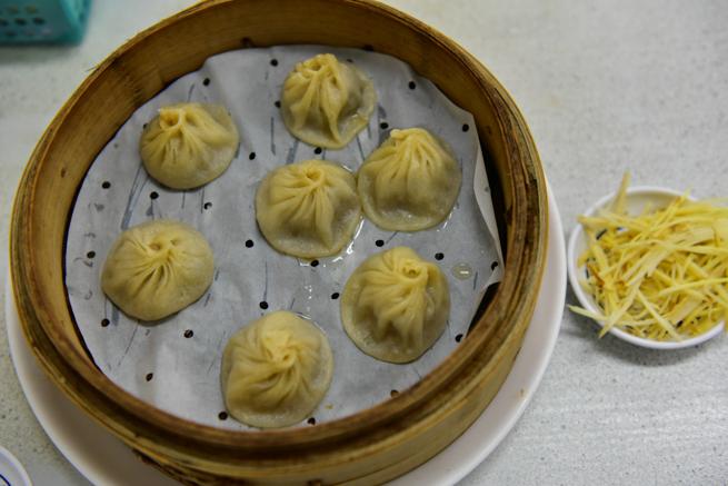 上海華都小吃點心城の小籠包