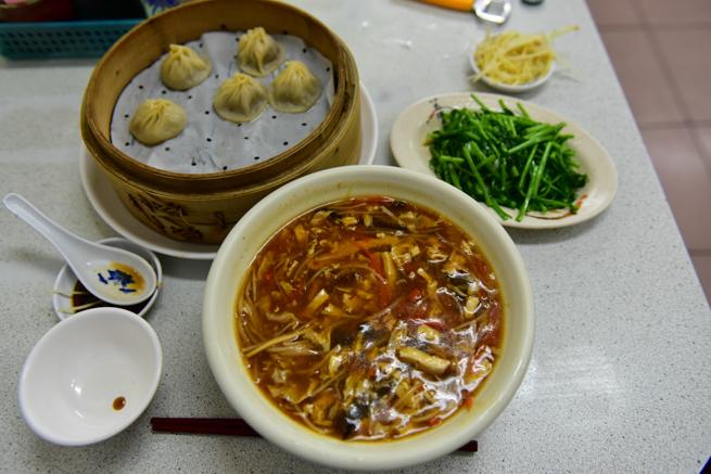 上海華都小吃點心城の料理