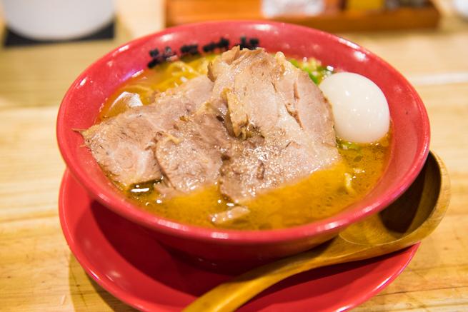 台北武藤拉麺の海老叉焼拉麺