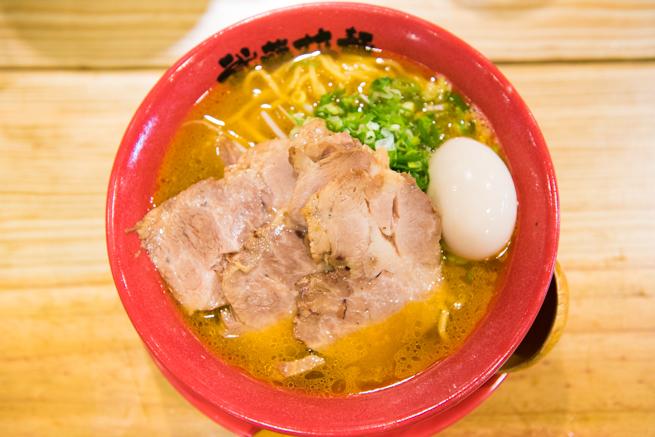 武藤拉麺の海老チャーシュー麺