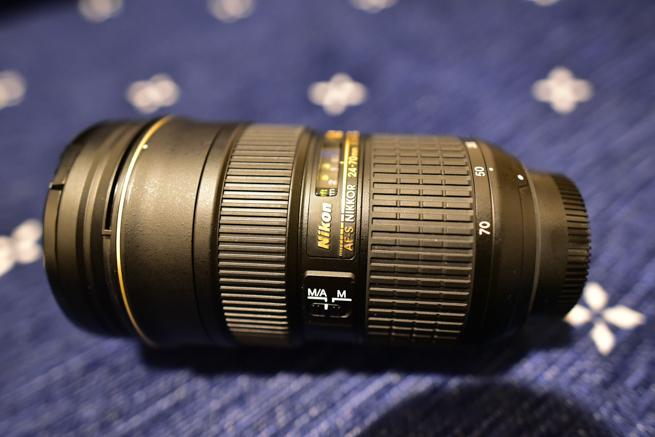 AF-S NIKKOR 24-70mm f/2.8G EDを買った