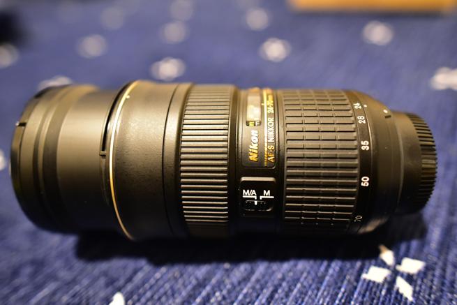 AF-S NIKKOR 24-70mm f/2.8G EDを伸ばす