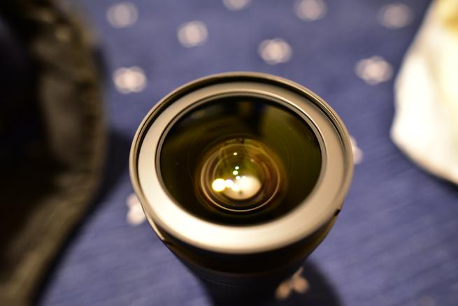 Nikon大三元のレンズ表面