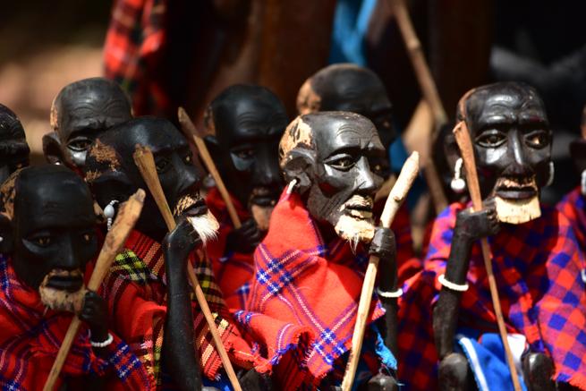 ナイロビのジラフパークのお土産