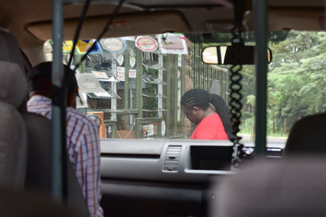 ナイロビ国立公園の入り口
