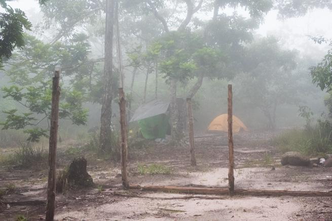 アウヤンテプイ1日目の宿泊地