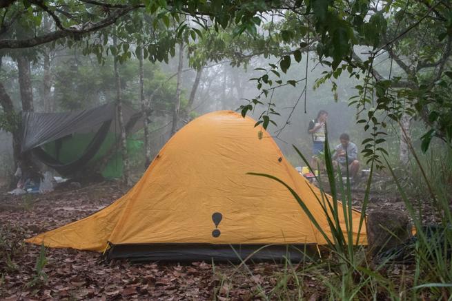 アウヤンテプイで使ったテント