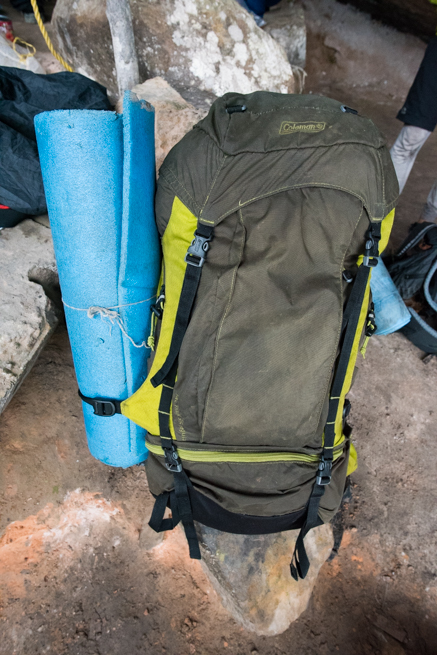 アウヤンテプイで使ったバックパック