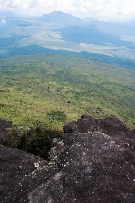 アウヤンテプイの最高地点からの眺め