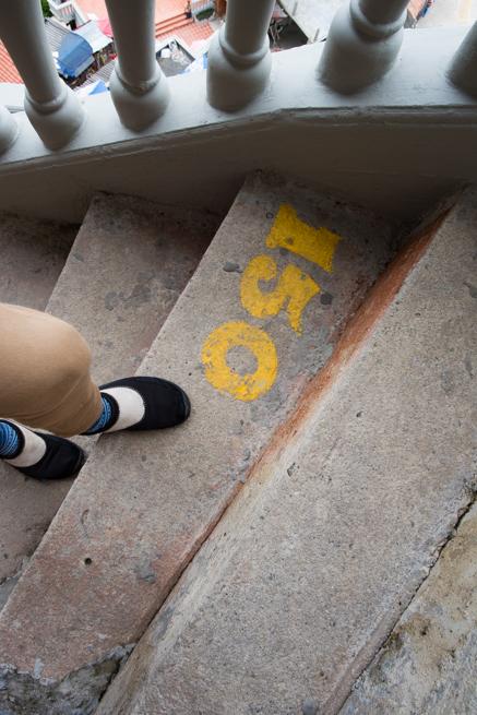 150段目の階段