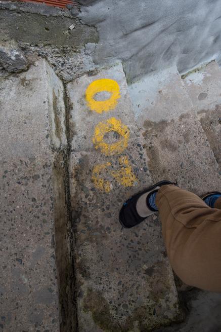 200段目の階段
