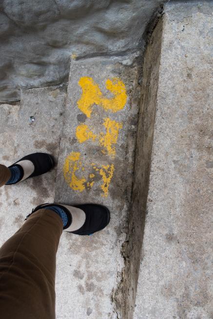 275段目の階段