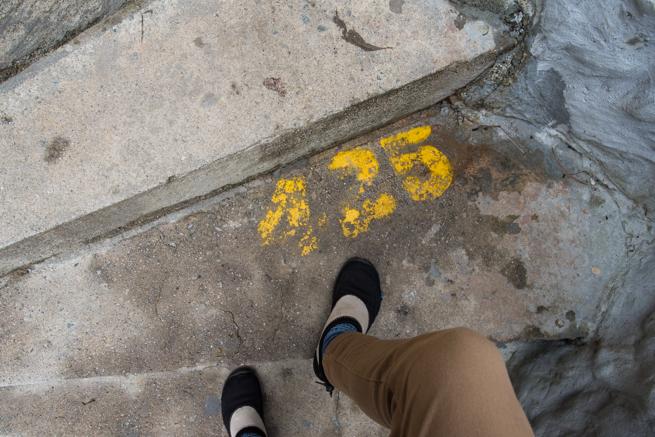 425段目の階段