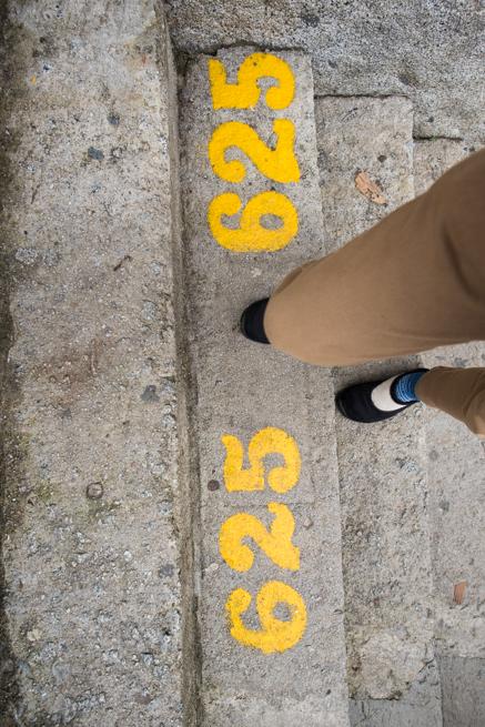 625段目の階段