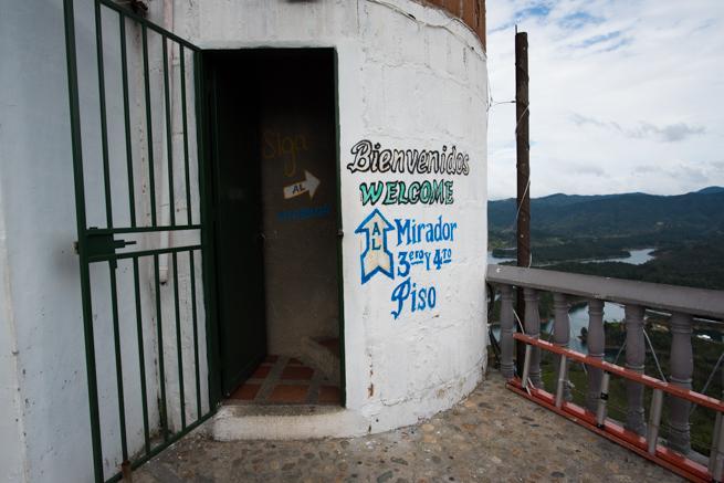展望台の入り口