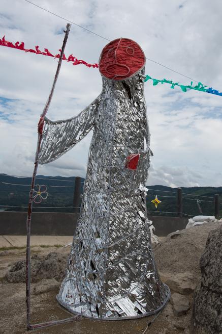 コロンビアの巨石ラピエドラデルペニョールの謎の人