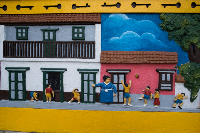 グアタペの面白い壁画