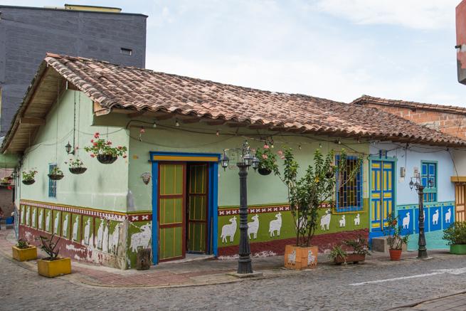 グアタペの綺麗な家