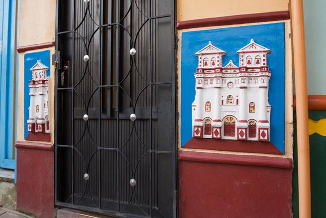 コロンビアのグアタペの門