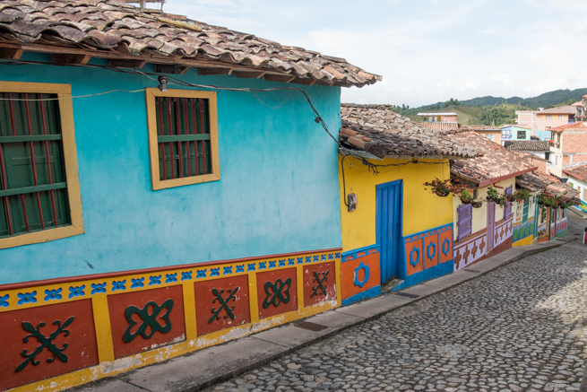カラフルな町グアタペ