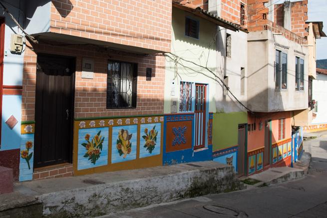 コロンビアのメデジン近くのグアタペ
