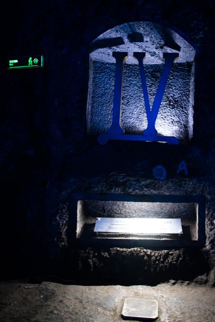 コロンビア・シパキラの塩の教会の四番目の記号