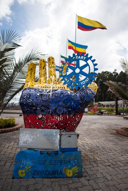 コロンビアのモニュメント