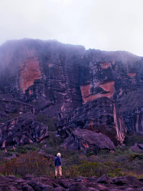 アウヤンテプイの頂上