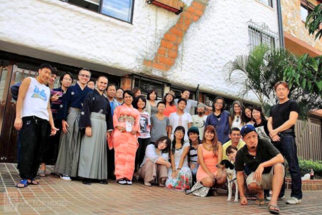 メデジンの日本人宿シュハリ