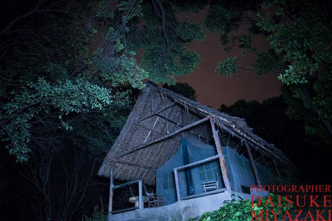 マサイマラ国立公園のホテルのテント