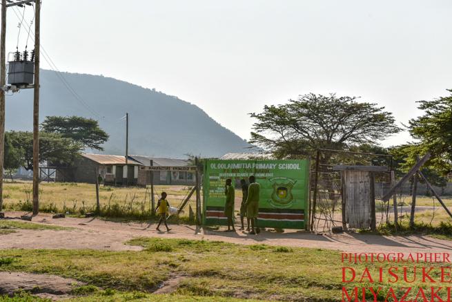 マサイ族の学校