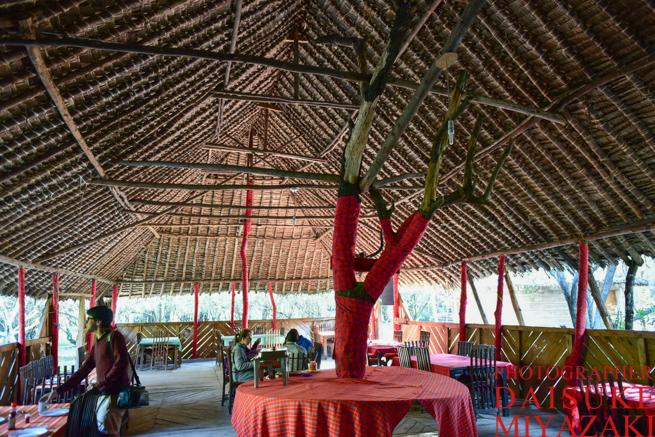 マサイマラ国立公園の食堂
