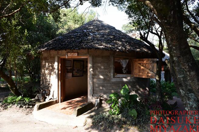 マサイマラ国立公園のホテル窓口