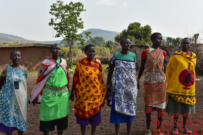 マサイ族の女性の歌