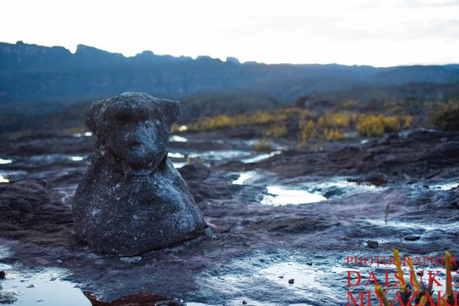 アウヤンテプイの熊の石