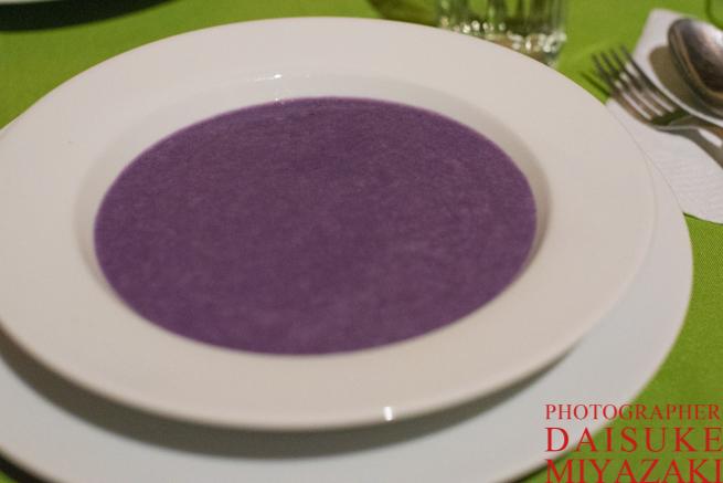 紫芋のスープ