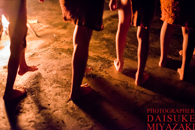 ペモン族の踊り