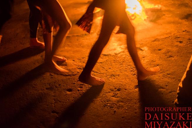 ペモン族のダンス