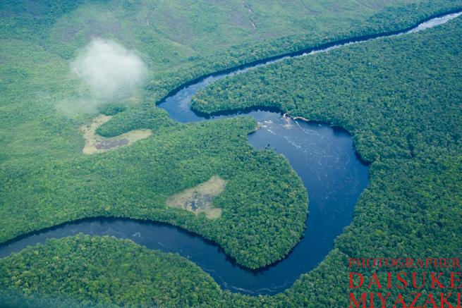 ギアナ高地の川