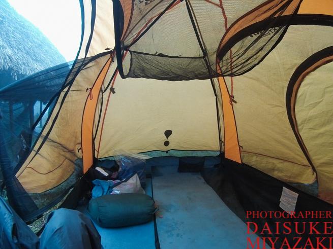 アウヤンテプイトレッキングで使ったテント