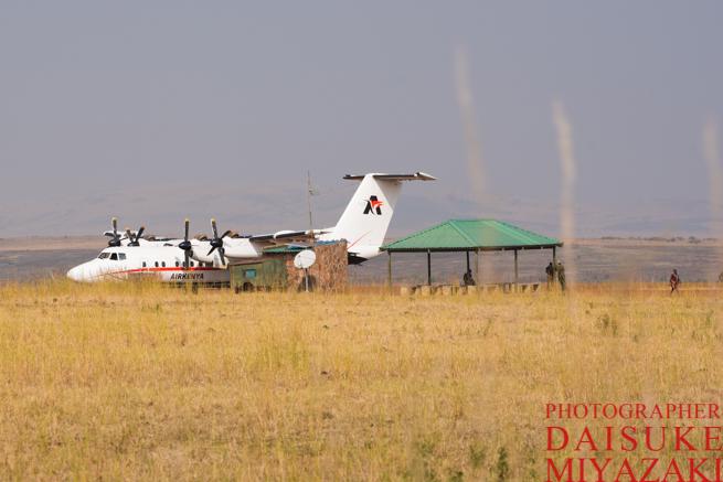 マサイマラ国立公園の飛行場