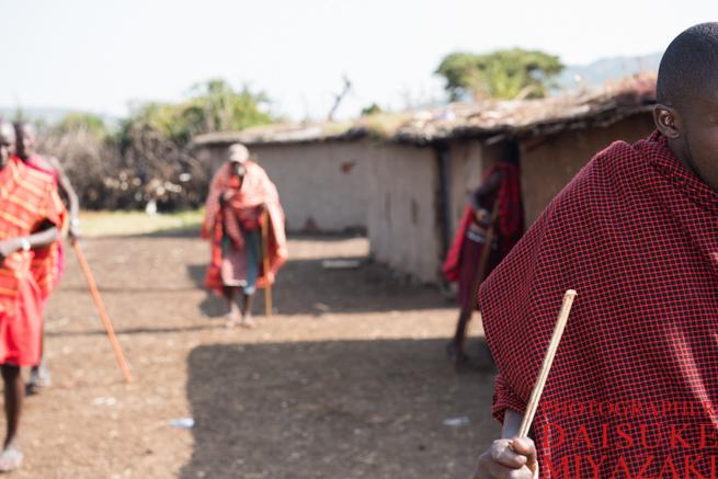マサイ族たち