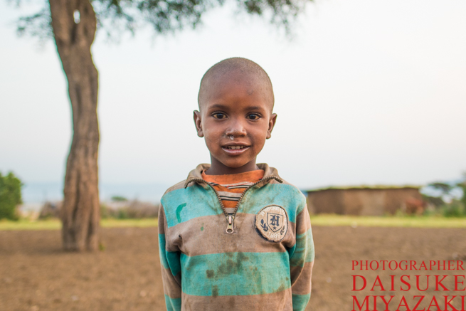 マサイ族の少年