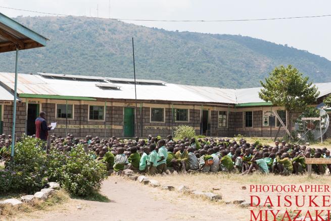 マサイ族の学校に行ってみた