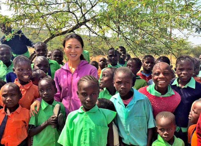ケニアで活動した青年海外協力隊OGの薬師川智子さん
