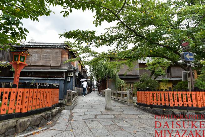 京都祇園の橋