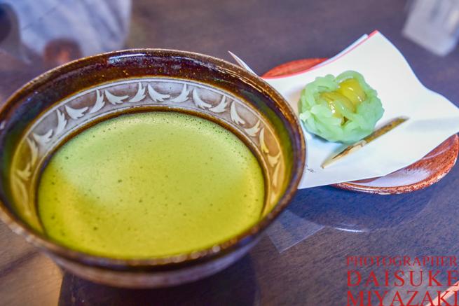京都名物の抹茶