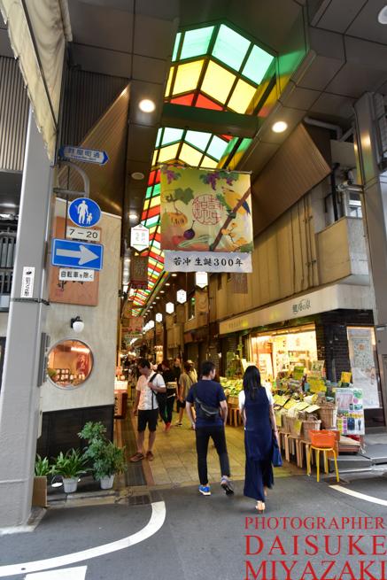 京都の商店街
