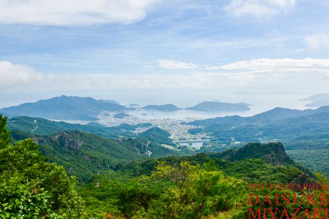 寒霞渓からの眺め