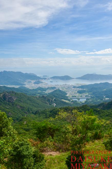 小豆島の絶景寒霞渓